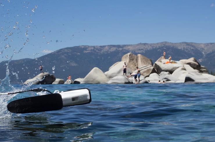 专门用于海底拍摄的无人机,操作跟钓鱼一样-广州奔想智能科技有限公司