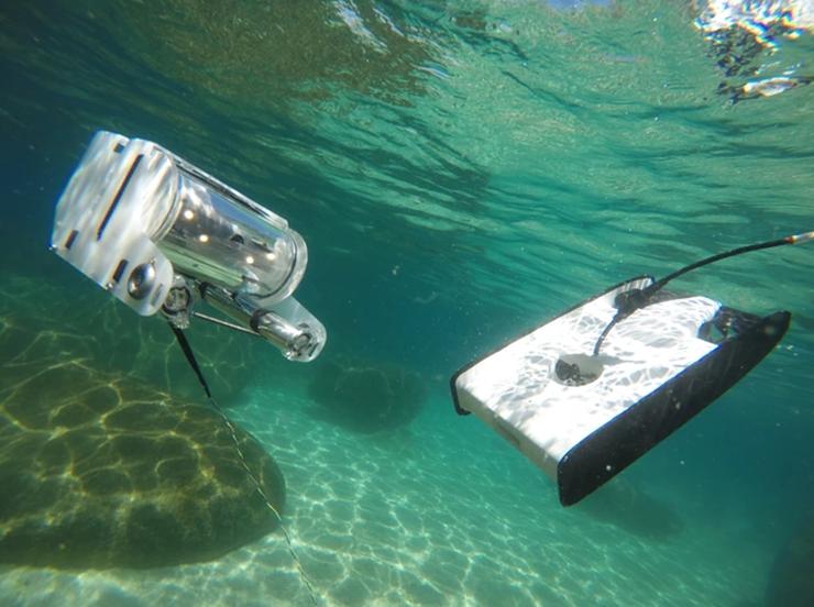 专门用于海底拍摄的无人机,操作跟钓鱼一样--广州奔想智能科技有限公司