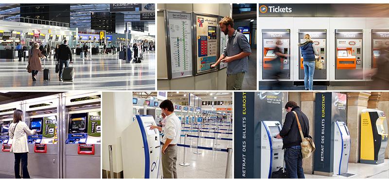 自助售票机--广州奔想智能科技有限公司