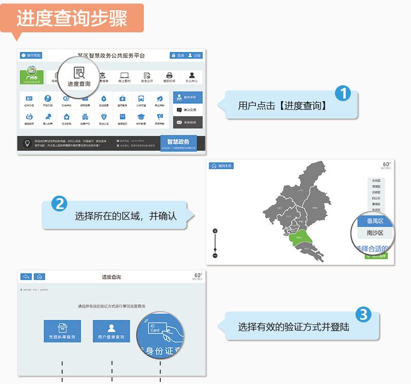 使用流程步骤 进度查询步骤-广州奔想智能科技有限公司